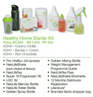 GNLD Healthy Home Starter Kit